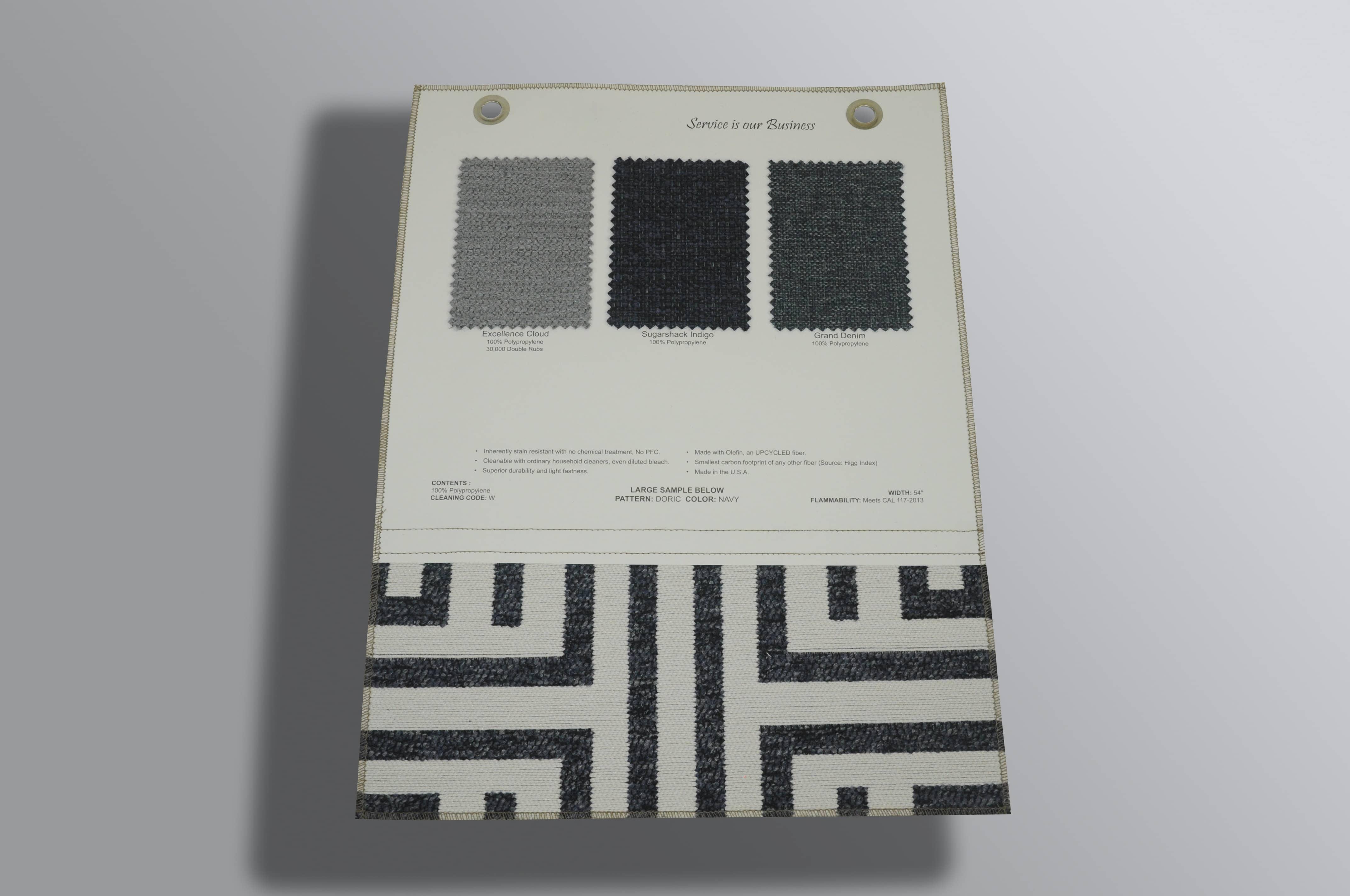 Fabric Memo Samples
