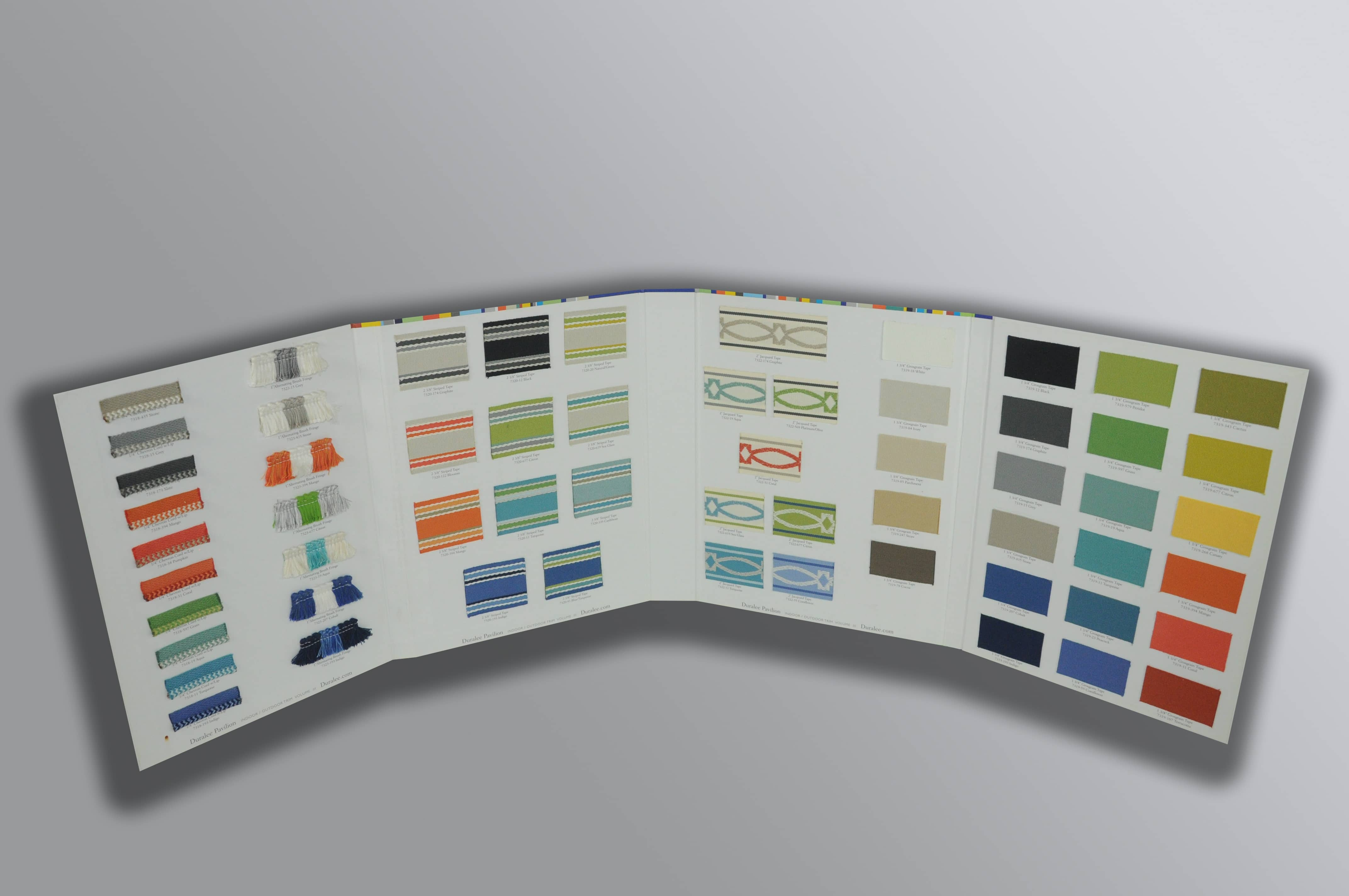 Fabric Sample Boards
