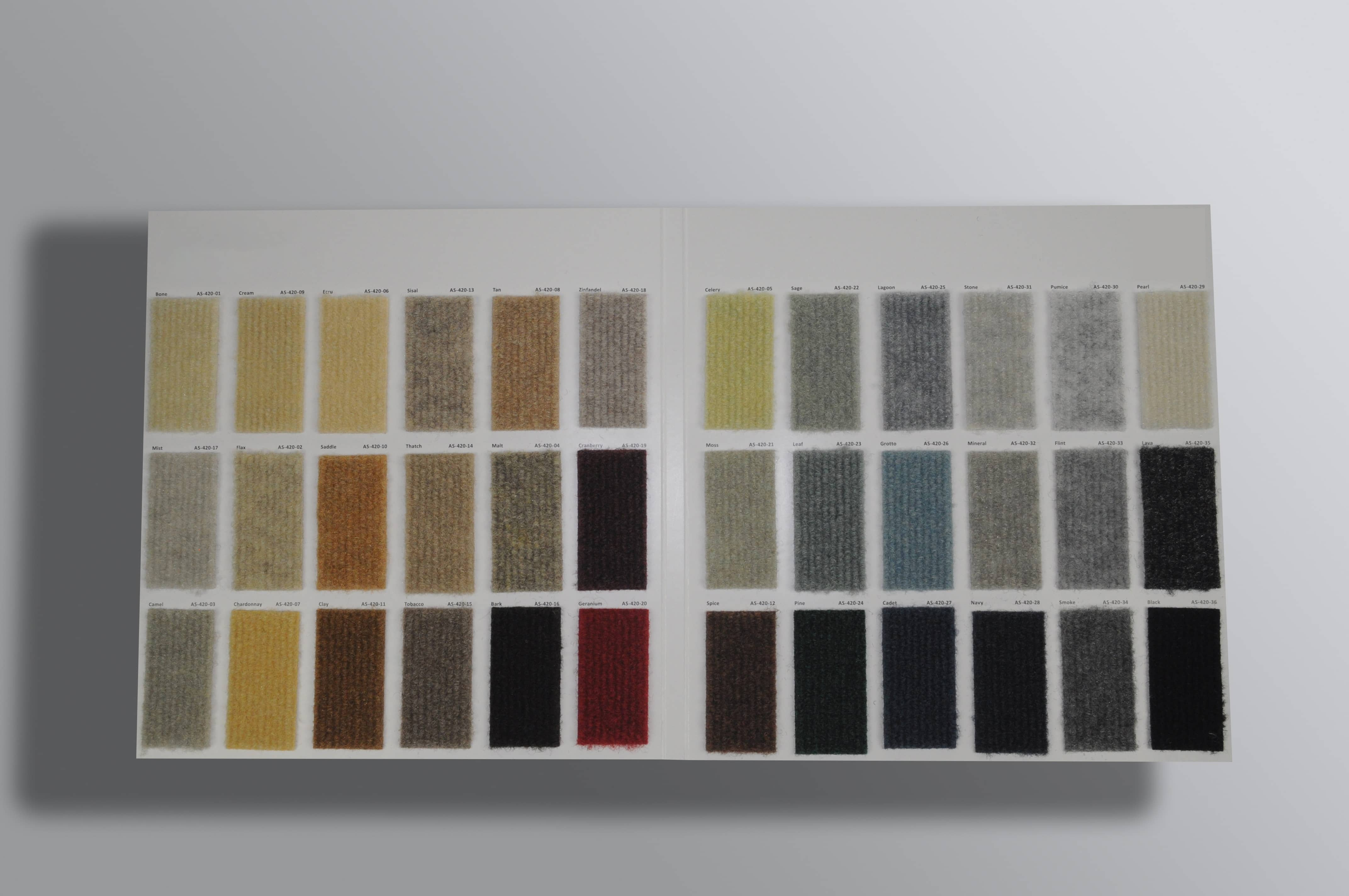 Fabric Swatch Cards